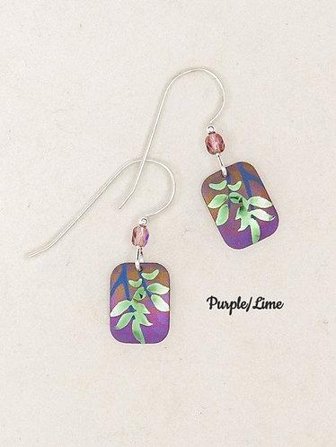 Evergreen Leaf Earrings