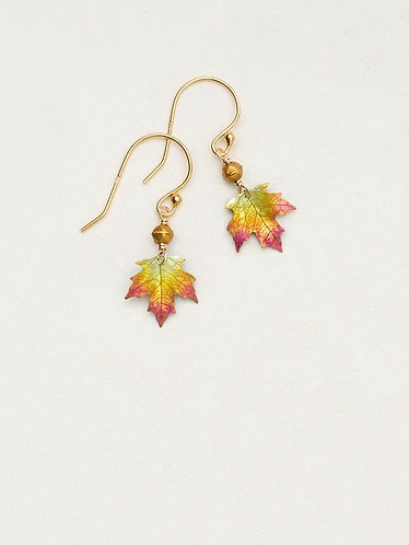 Peach Petite Sugar Maple Earrings