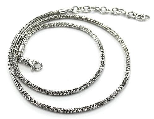 """SS Tulang Naga Necklace 22""""-24"""""""