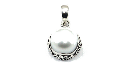 Sterling Silver Freshwater Pearl Pendant