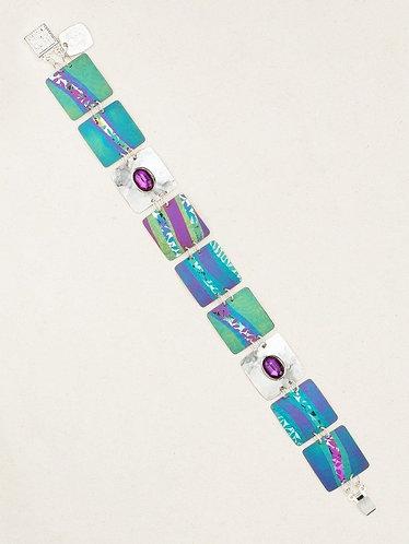 Turquoise/Purple Pure Harmony Bracelet