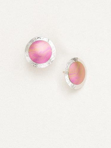 Rose Thelma Post Earrings