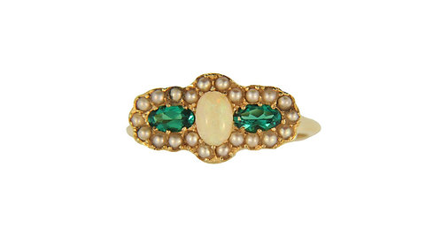 Oval/Emerald Ring