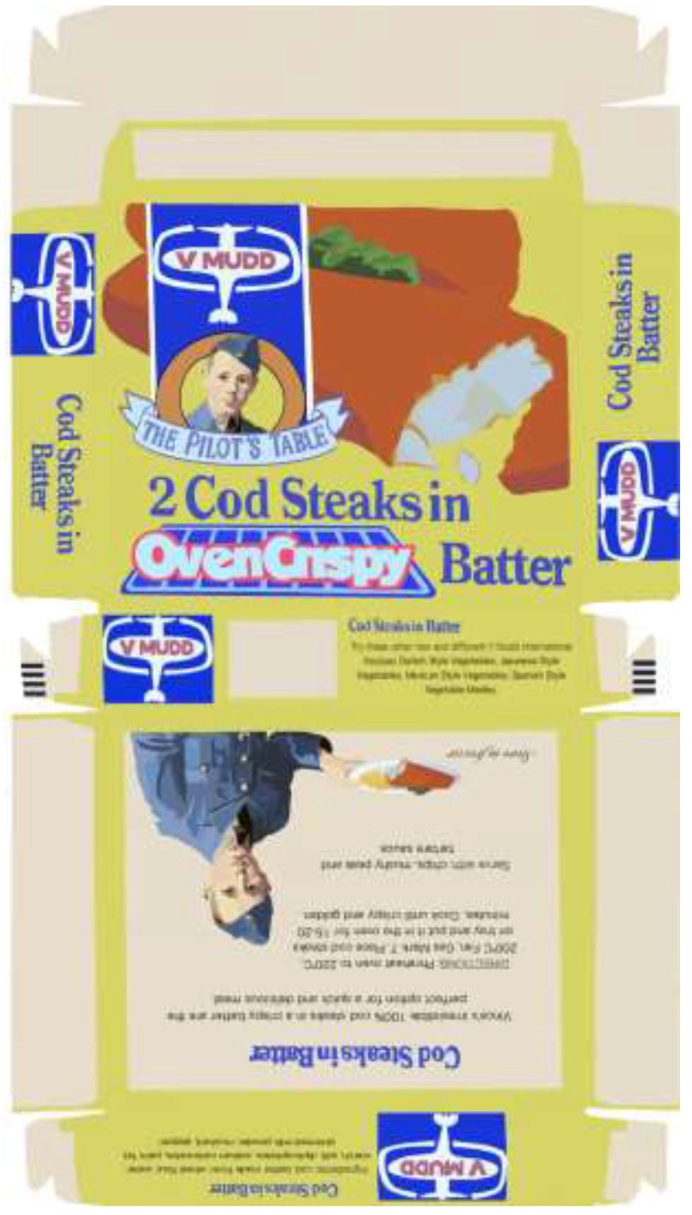 V. Mudd Cod Steaks