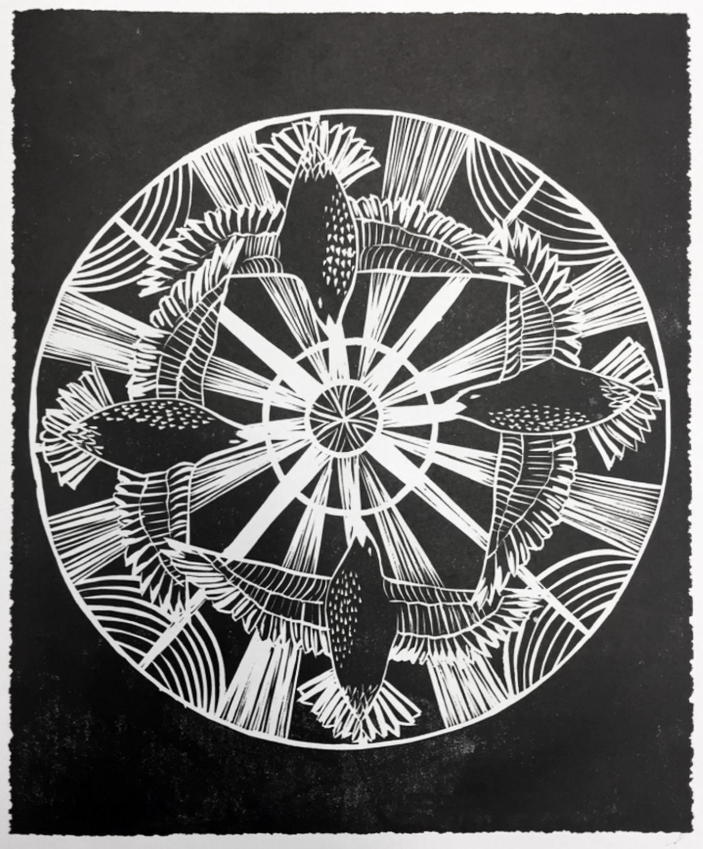 Art Deco Starling Circle