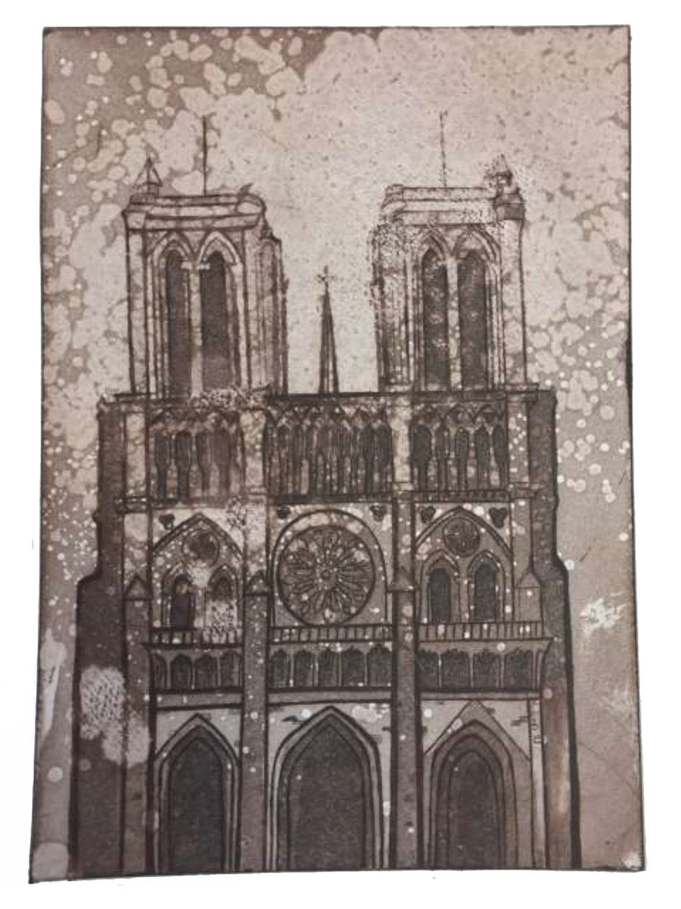 Remembering The Notre-Dame, 2020