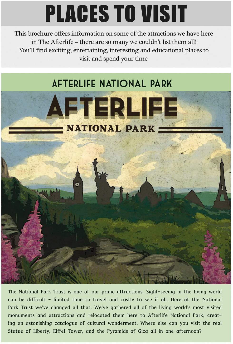 Afterlife National Park, from Afterlife-A guide for the Recently Deceased.