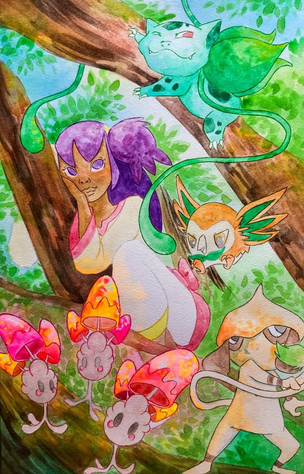 Illustration for Pokémon. Page 4