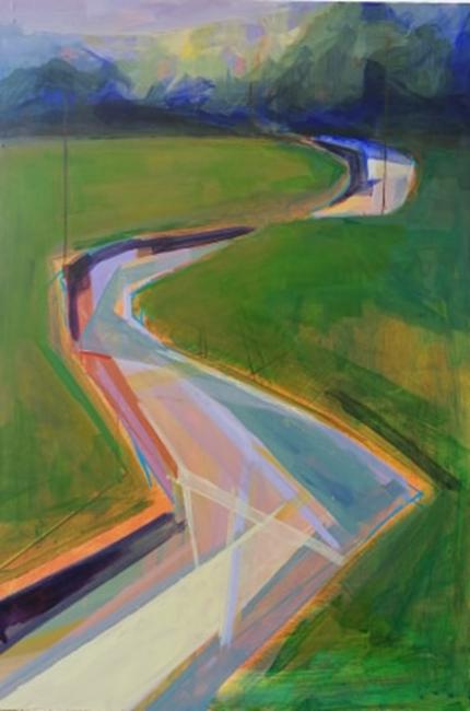 Gwanwyn 2 (spring 2) - Abstracted Spring series