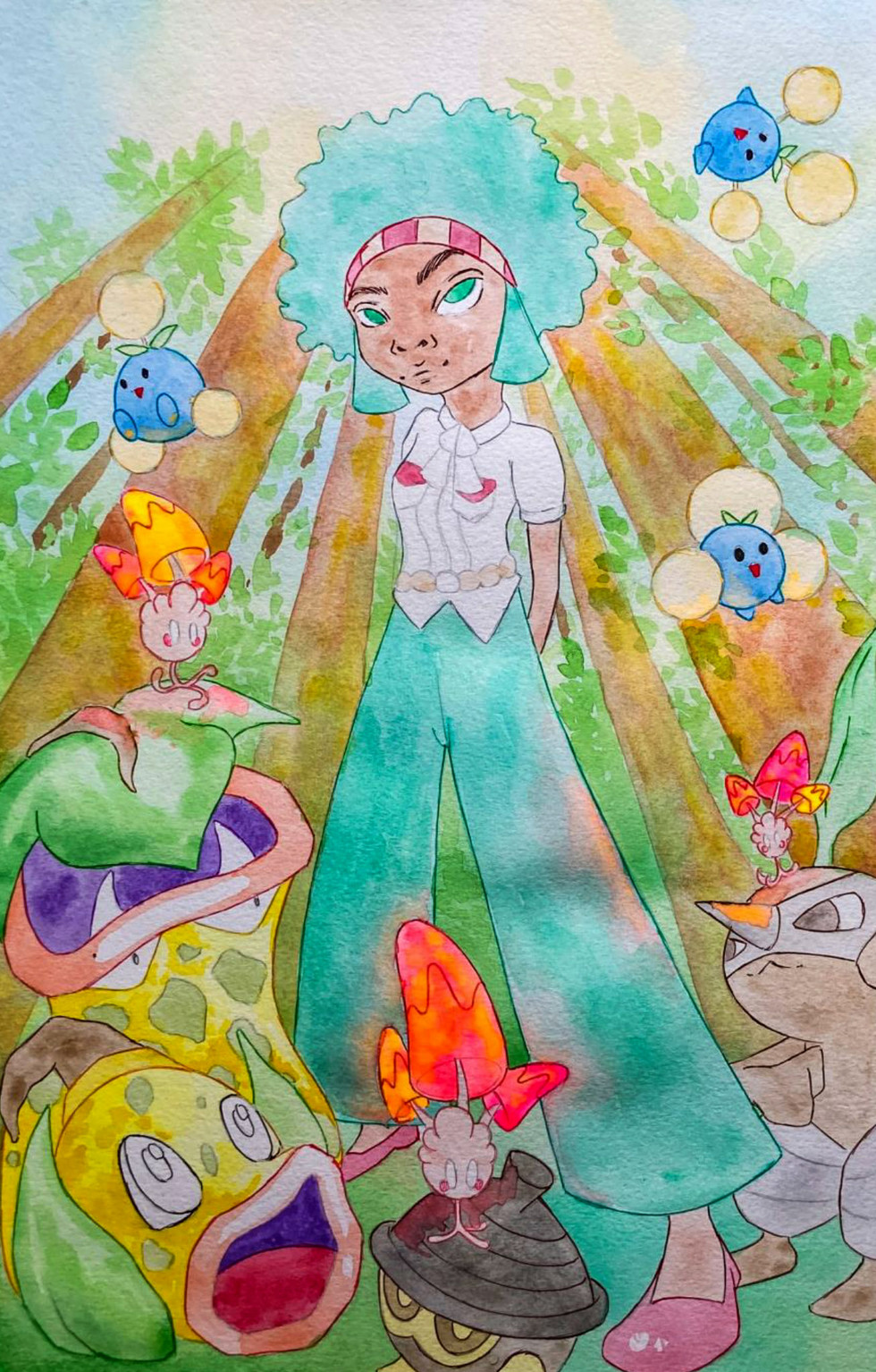 Illustration for Pokémon. Page 3