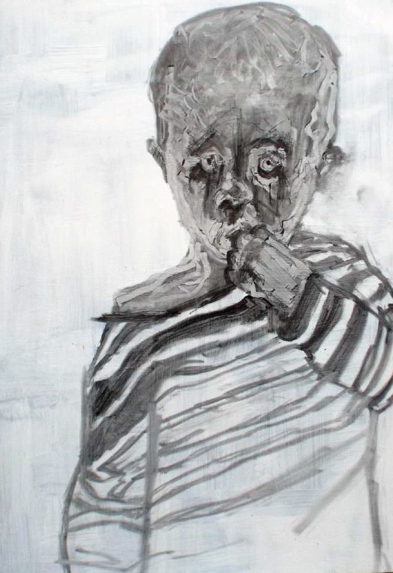 Negative Painted Drawing 6