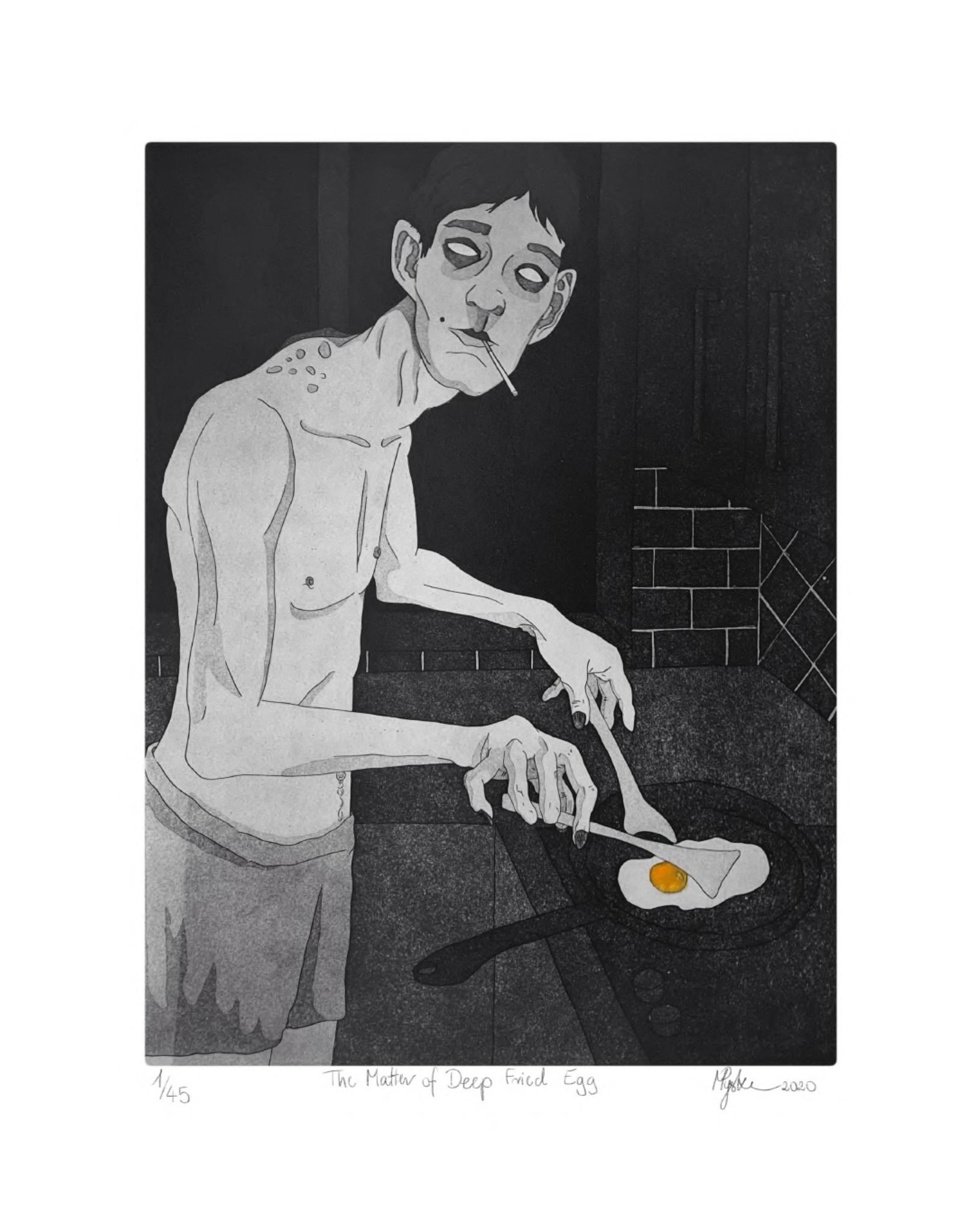 The Matter of Deep Fried Egg