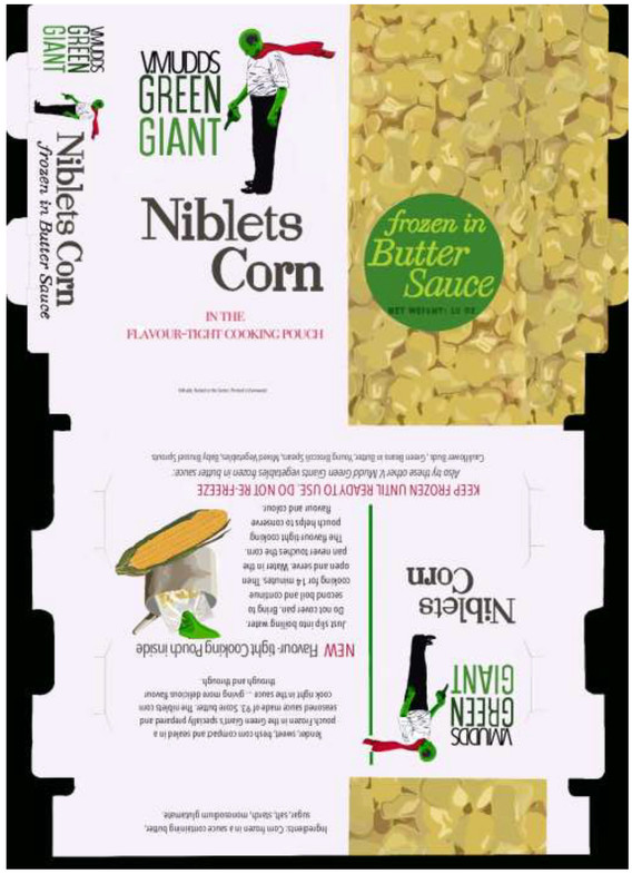 V. Mudd Niblets Corn