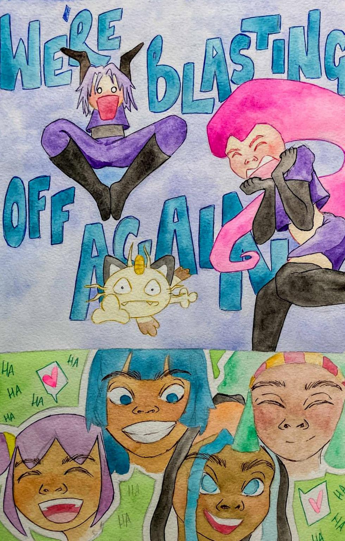 Illustration for Pokémon. Page 21