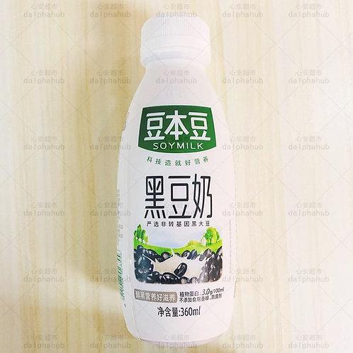 Doubendou black soy milk 360ml 豆本豆黑豆奶360ml