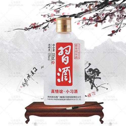 chinese wine 小红习酒白酒53度100ml