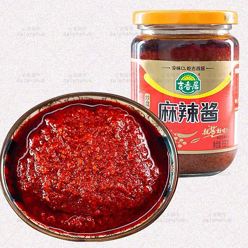 Peppery and Spicy sauce 358G 吉香居麻辣酱358g