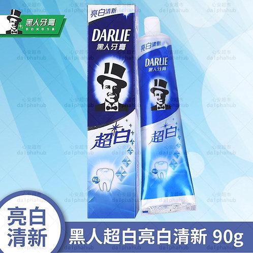 Darlie Toothpaste 黑人超白含氟牙膏90g