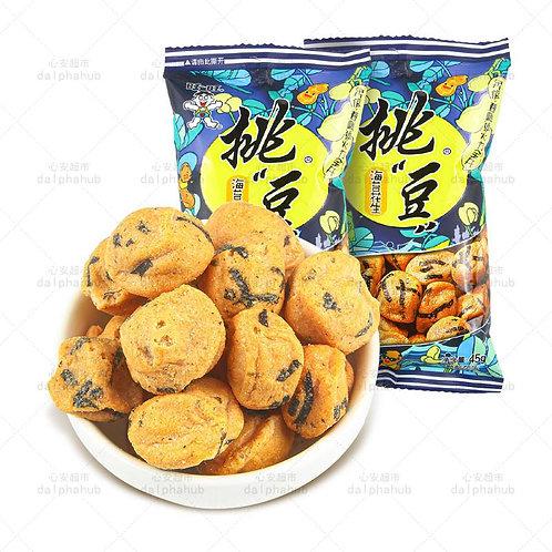Seaweed peanut 旺旺挑豆海苔花生45g
