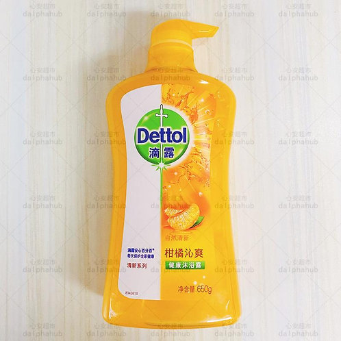 Dettol shower gel 滴露沐浴露柑橘650g