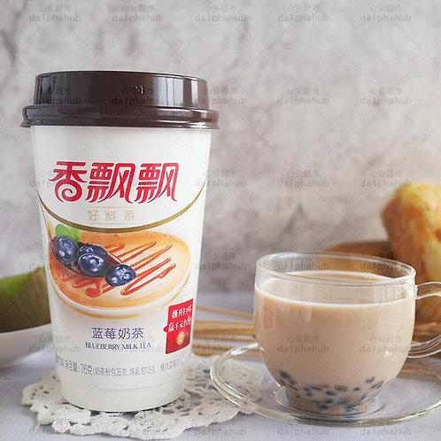 Blueberry milk tea 香飘飘高杯好料蓝莓奶茶