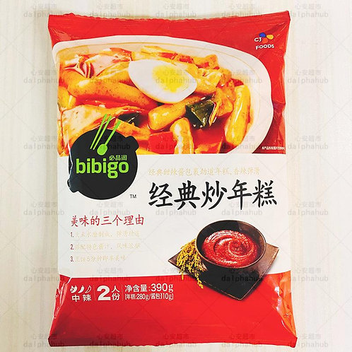 Bibigo Classic Fried Rice Cake 390g 必品阁经典炒年糕390g