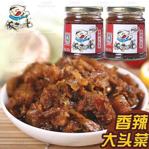 Spicy Cabbage 饭扫光香辣大头菜瓶装280g