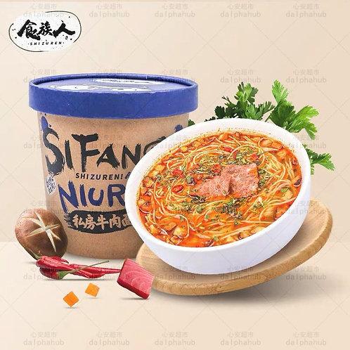Energy Beef noodles 食族人私房牛肉面桶装
