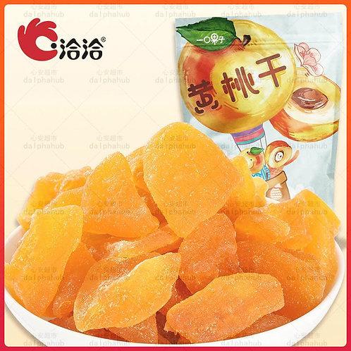 Dried yellow peaches 洽洽黄桃干100g