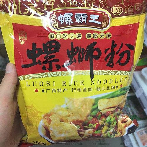 Luosi Snail Rice noodles 螺霸王螺蛳粉原味280g