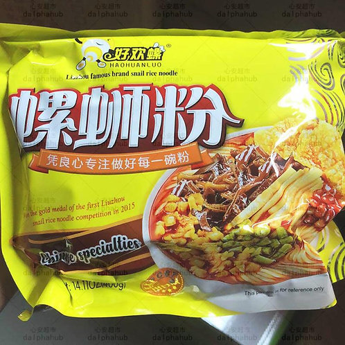 Haohuanluo Snail rice noodles 好欢螺螺蛳粉400g