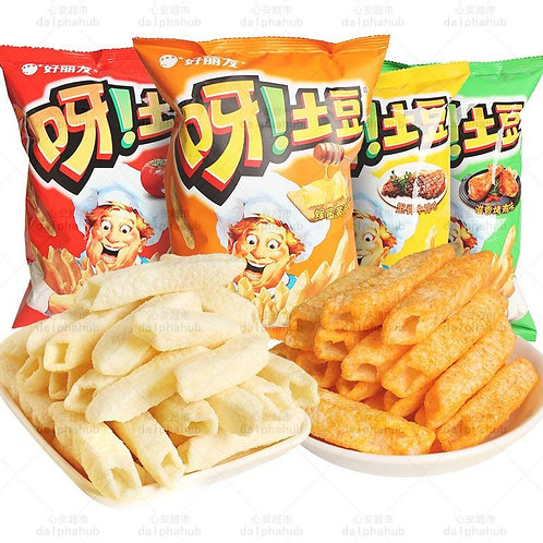 Potato chips (ketchup/ridge steak/scented chicken wings flavor) 40g