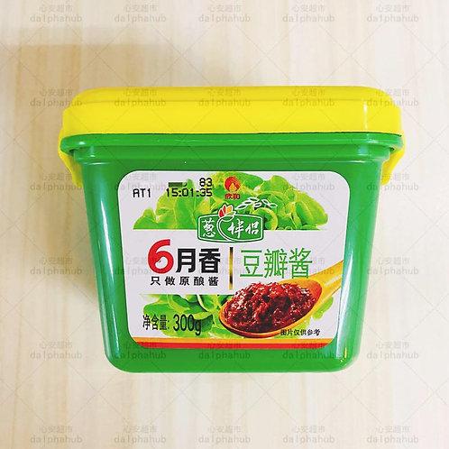 liuyuexiang bean paste 六月香豆瓣酱300g