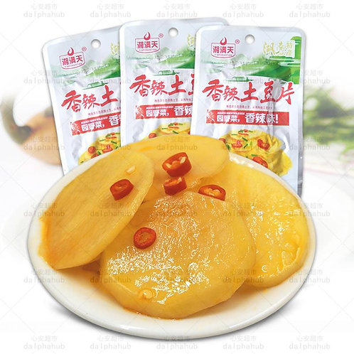 Spicy Potato Chips 湘满天香辣土豆片28g