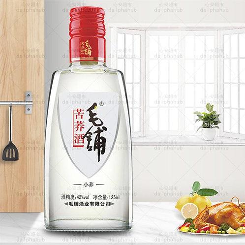 chinese wine 毛铺苦荞酒42度125ml