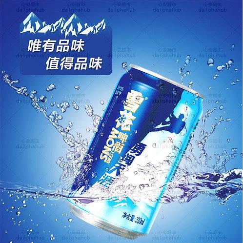 Snow beer 雪花勇闯天涯罐装330ml