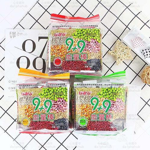 Gu Daoxian Energy bar sea moss / peanuts / egg yolk flavor 180g 谷道仙能量棒海苔/花生/蛋黄味