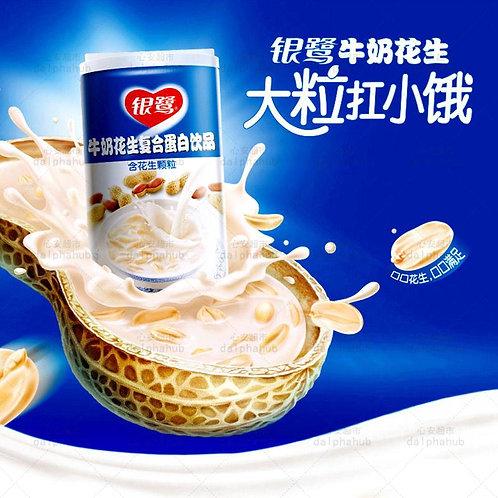 Canned milk peanut protein of Yinlu 银鹭牛奶花生复合蛋白360ml