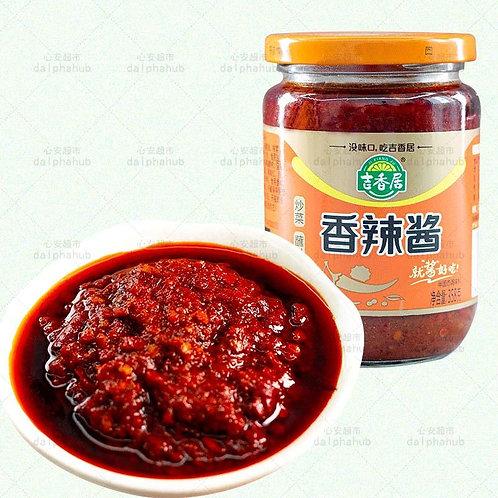 Spicy sauce 358G 吉香居香辣酱358g