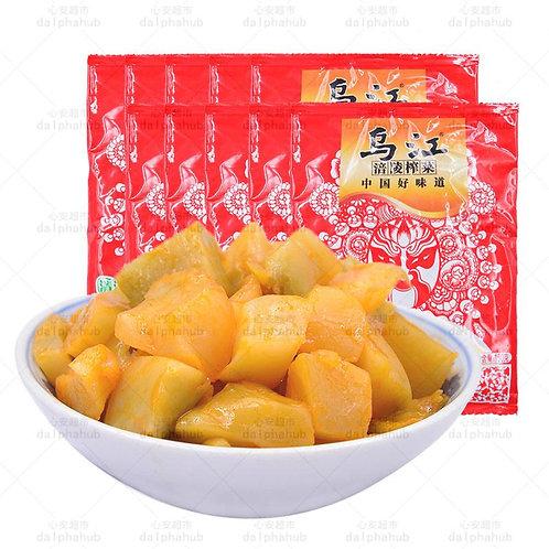 Pickled vegetables 乌江脆口榨菜150g