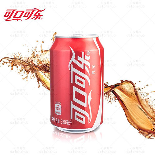 Coca Cola 可口可乐汽水经典罐装330ml
