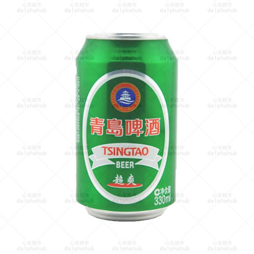 Tsingtao青岛超爽罐装啤酒330ml