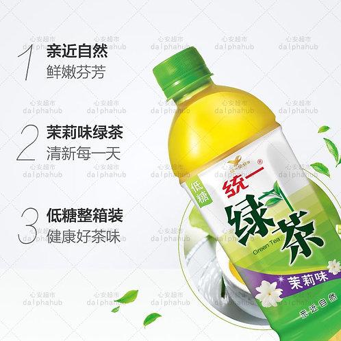 Jasmine green tea 500ml 统一茉莉味绿茶