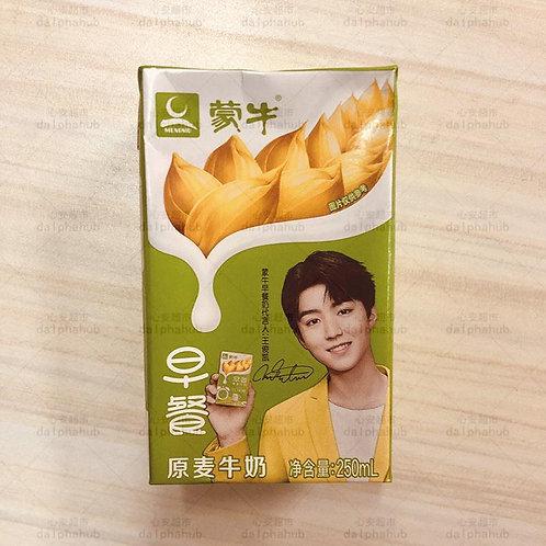 Breakfast milk 蒙牛早餐奶原麦香味250ml