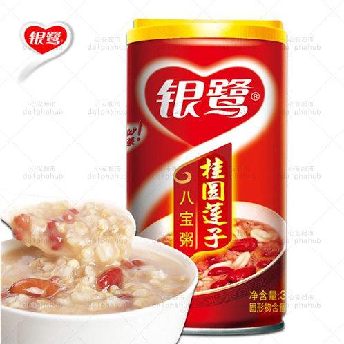 Eight treasures congee with longan and lotus seeds 360g 银鹭桂圆莲子八宝粥360g