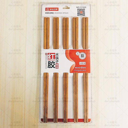 chopsticks 红木筷子10双装