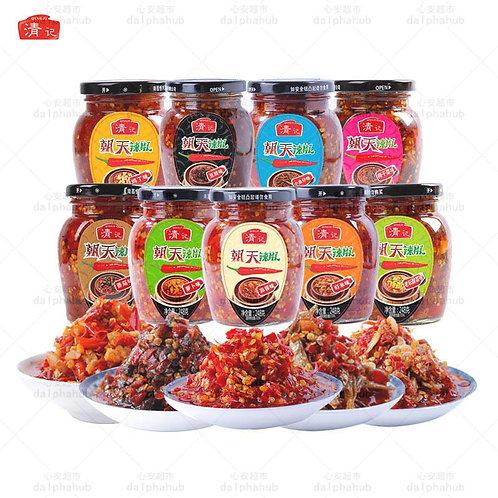 chili paste 清记朝天辣椒多口味248g