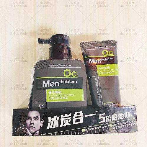 mentholatum face wash 曼秀雷敦冰爽活碳洁面乳150ml