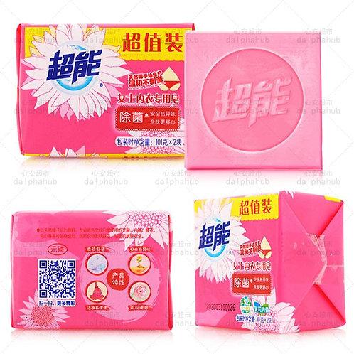 Women's underwear soap 101g * 2 超能女士内衣专用皂101g*2