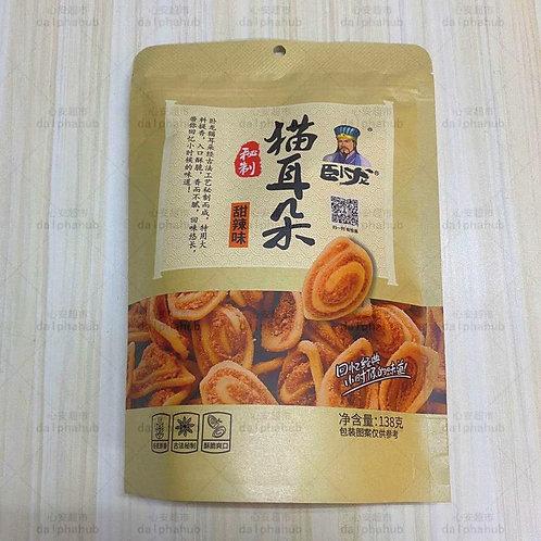 卧龙猫耳朵甜辣味138g